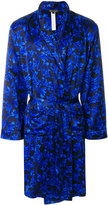 Versace Baroque print dressing gown
