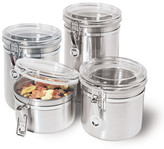 Oggi Stainless Canister 4 Piece Set