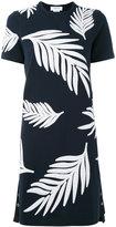 Thom Browne palm tree dress - women - Cotton/Polyester/Rayon - 40