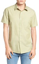 Brixton Men's Lloyd Plaid Woven Shirt