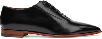 Acne Studios Martha Glossed-leather Brogues