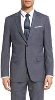 Theory Men's Wellar Trim Fit Houndstooth Wool Sport Coat