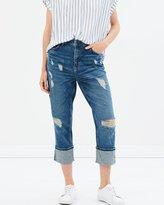 Only Tomboy Crop Denim Jeans