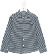 Il Gufo striped shirt - kids - Cotton/Linen/Flax - 3 yrs