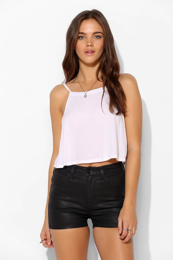 Urban Outfitters SkarGorn Kiss It Coated Denim Short