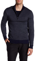 Toscano Birdseye Quarter Zip Pullover