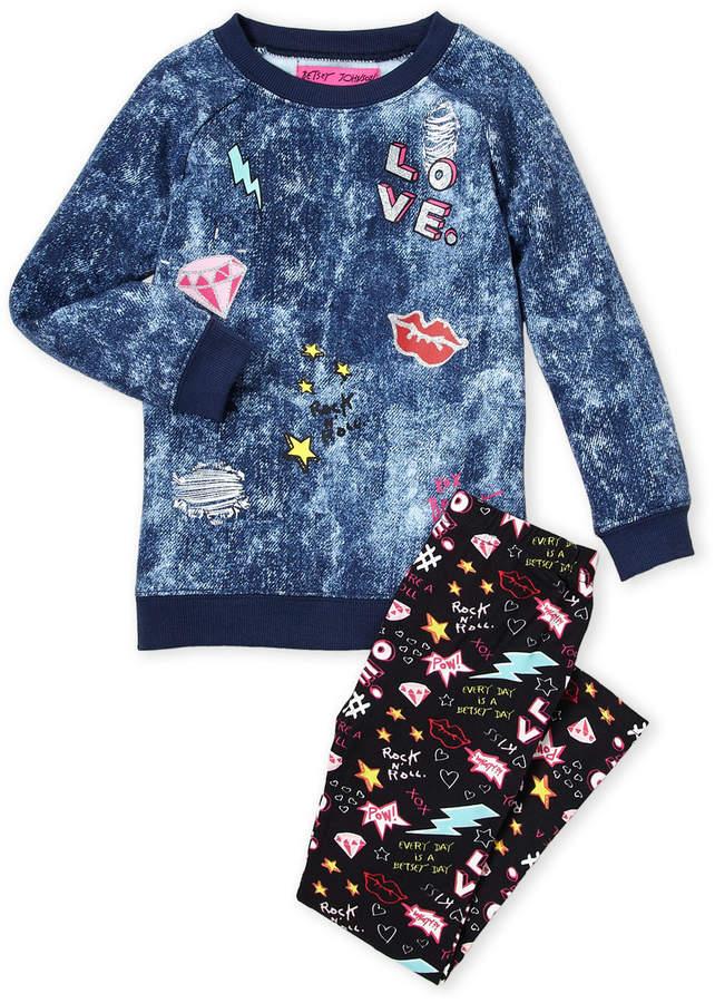 7d42b645f Betsey Johnson Blue Girls' Clothing - ShopStyle