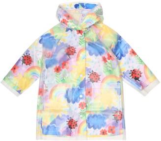Stella McCartney Kids Printed PVC raincoat