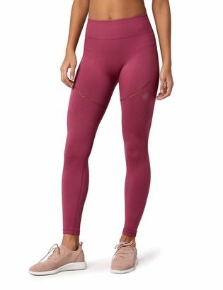 Aurique Amazon Brand Women's Seamless Sports Leggings
