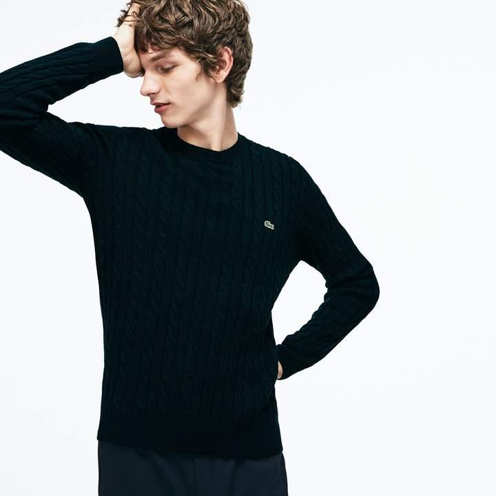 a039dd12d5 Mens Crewneck Lacoste Sweater - ShopStyle