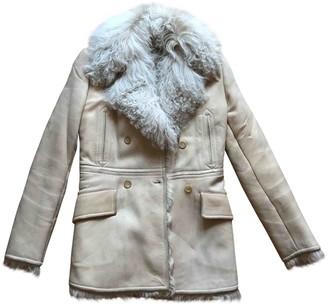Gucci Beige Shearling Coat for Women