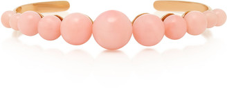 Irene Neuwirth 18K Rose Gold And Pink Opal Cuff