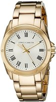 Vince Camuto Women's VC/5230SVGB Gold-Tone Bracelet Watch