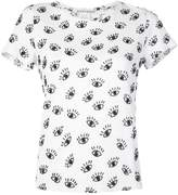 Alice + Olivia Alice+Olivia Rylyn eye print T-shirt