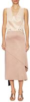 Jil Sander Colorblocked Midi Dress