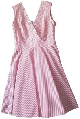 Claudie Pierlot SS18 Pink Cotton Dresses