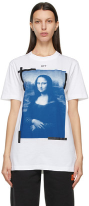 Off-White White Slim Mona Lisa T-Shirt