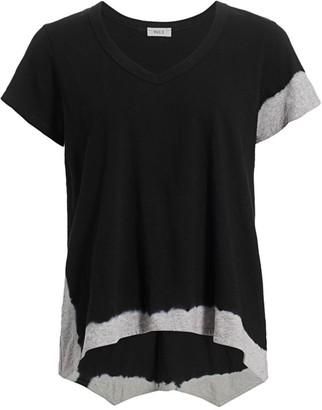 Wilt Tie-Dye Trim T-Shirt