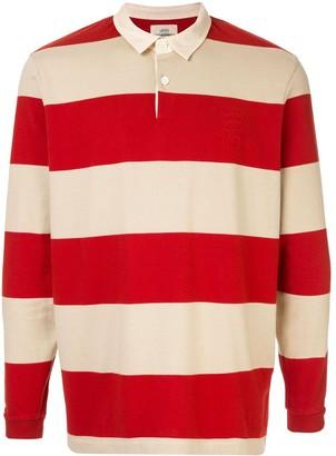 Kent & Curwen Miller striped rugby shirt