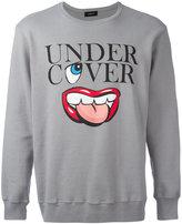 Undercover slogan graphic print sweatshirt