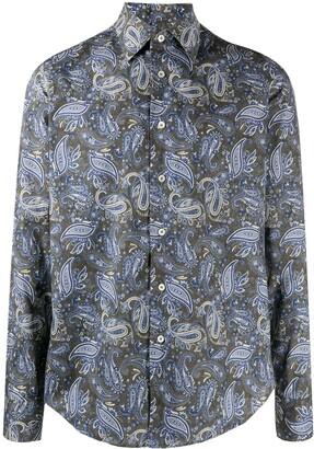 Dell'oglio Paisley Print Shirt