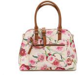 Kelly & Katie Women's Helaniel Satchel -Blush Floral Print
