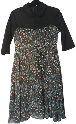 VIVETTA Black Viscose Dresses