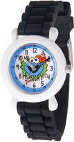 Sesame Street Boys Black Strap Watch-Wss000040