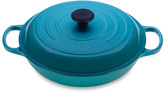 Le Creuset Caribbean 3 1/2-Quart Enameled Cast Iron Braiser