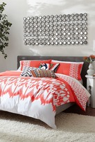 Trina Turk Hollyhock Ikat Twin/Twin XL Comforter 2-Piece Set - Coral/White
