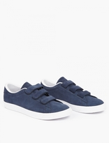 Nike Blue Suede Tennis Classic Velcro Sneakers