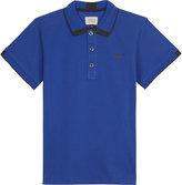 Armani Junior Classic Cotton Polo Shirt 4-16 Years