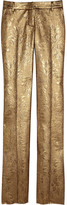 Balmain Jacquard straight-leg pants
