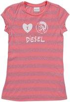 Diesel 'Tindico' T-Shirt (Kids) - Magenta-X-Small
