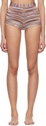 Missoni Multicolor Mare Striped Shorts