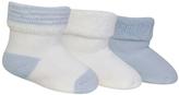 Polo Ralph Lauren White & Blue Socks - Set of Three - Infant