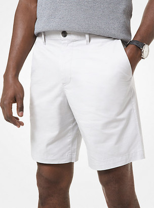 Michael Kors Washed Poplin Shorts - Midnight