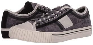 John Varvatos Vulcanized Surplus Low Top (Metal Grey) Men's Shoes