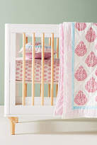 Anthropologie Fleur De Lis Toddler Quilt & Playmat