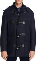 Michael Kors Double Faced Hooded Duffle Coat