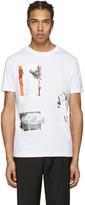 McQ by Alexander McQueen White Graphic T-Shirt