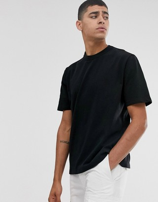 ASOS loose fit heavyweight t-shirt in black