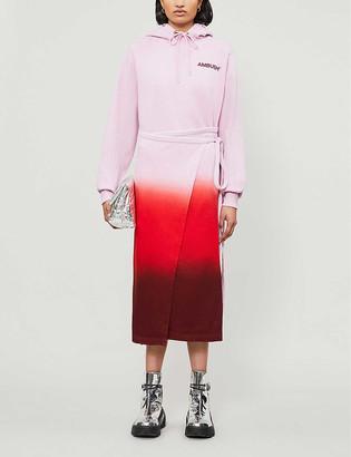Ambush Tie-dye cotton-jersey maxi dress
