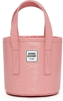 Opening Ceremony Micro Croc Bucket Bag