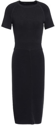 Maje Ribbed-knit Dress