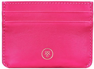 Maxwell Scott Bags Finest Quality Womens Pink Leather Credit Card Case