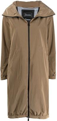 Herno Stand-Up Collar Raincoat
