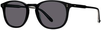 Garrett Leight Men's Kinney 49 Matte Semi-Flat Acetate Sunglasses