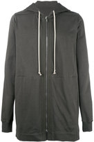 Rick Owens long length hoodie - men - Cotton - XS