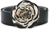 MM6 MAISON MARGIELA flower buckle belt
